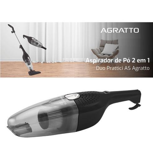 Imagem de Aspirador De Pó Duo Retém Acaro E Poeira Portátil Super Potente Casa Carro 2 Em 1