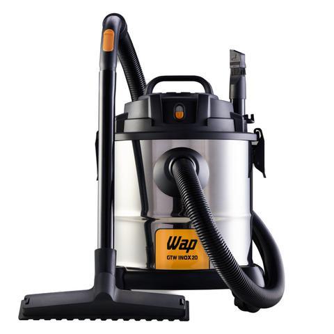Imagem de Aspirador de Pó e Água 1600W e Lavadora de Alta Pressão Eco Wash 2350 1650W 220V WAP Preto/Amarelo/Inox