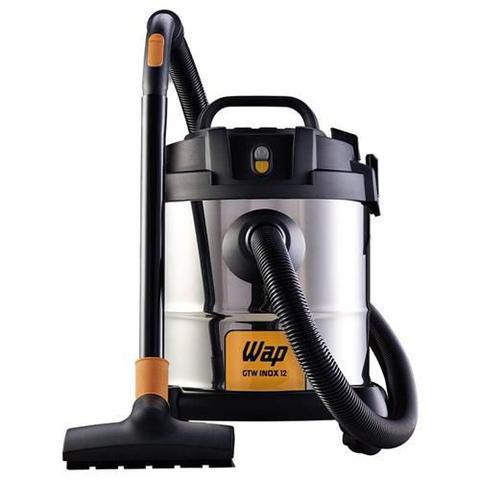 Imagem de Aspirador De Pó E Água Aspirador Portatil Eletrolux Wap Gtw 12 1400W 12L Inox 110V