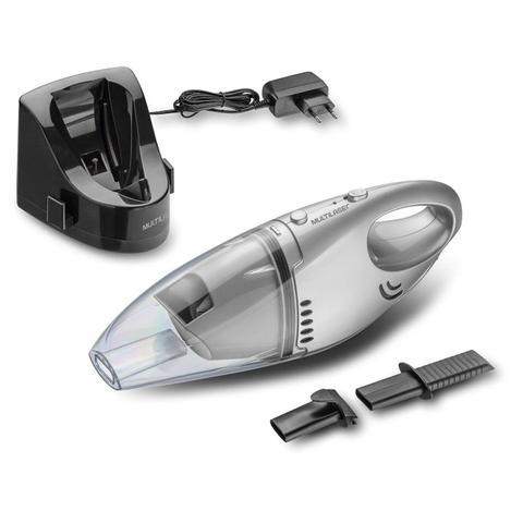 Imagem de Aspirador de pó e líquidos portátil bivolt com reservatório de 500ml cinza - ho082