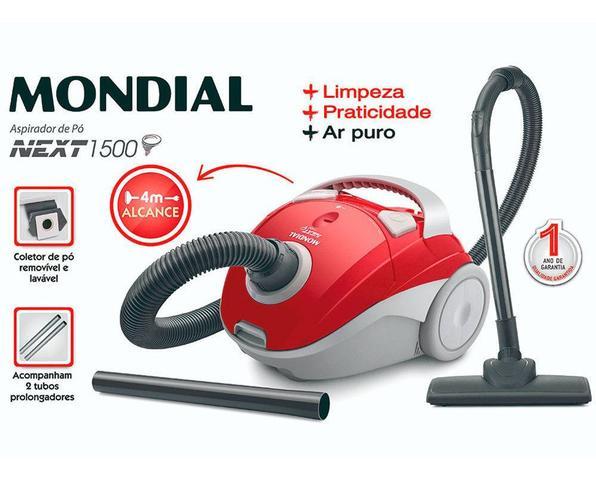 Imagem de Aspirador De Pó Portátil 1.200w Ap12 Next 1500 Mondial 110v