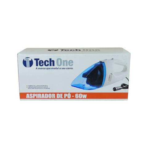 Imagem de Aspirador de Pó Portátil Automotivo 12v 60W Tech One