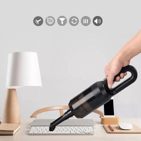 Imagem de Aspirador de Pó Portátil Bivolt 45W Casa, carro, escritorio e Pet USB
