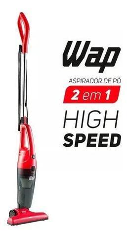 Imagem de Aspirador de Pó Portátil e Vertical Wap - Filtro HEPA 1000W High Speed Vermelho e Preto - 110v