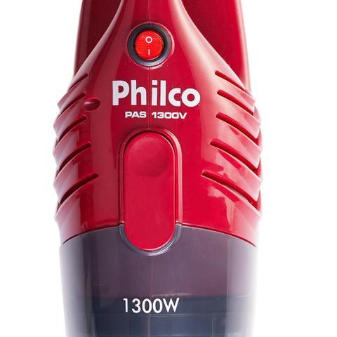 Imagem de Aspirador de Pó Portátil Philco Multi Clean PAS1300V 1300W Vermelho 127V