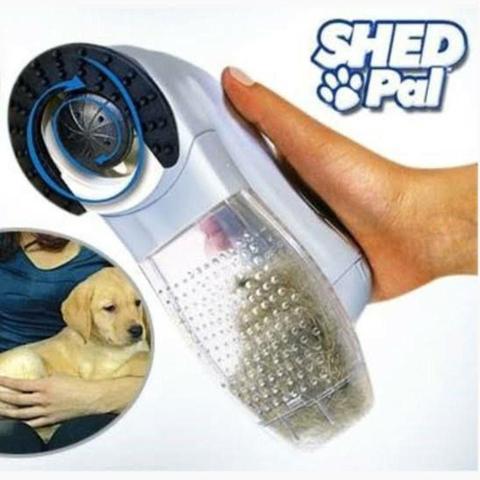 Imagem de Aspirador Desembolador De Pelos Portátil Cachorros Gatos Cuidados Massagem SHED PAL Pet