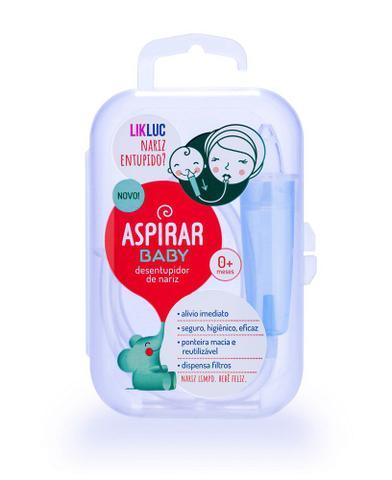 Imagem de Aspirador nasal aspirar baby - likluc