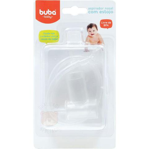 Imagem de Aspirador nasal com sucção oral e estojo, Buba Baby