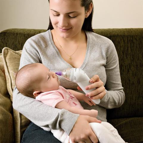 Imagem de Aspirador Nasal Eletrônico Multikids Baby - BB011