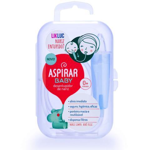 Imagem de Aspirador Nasal para Bebês Aspirar Baby Likluc Com Estojo