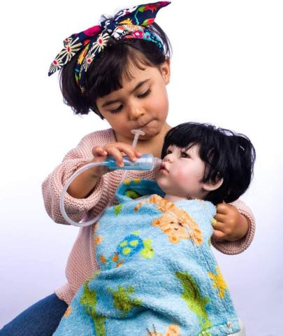 Imagem de Aspirador Nasal Para Bebês Aspirar Baby - Likluc