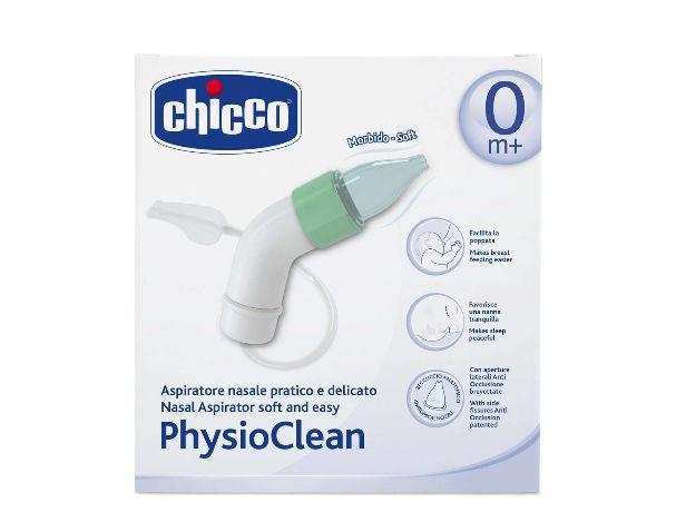 Imagem de Aspirador Nasal para bebês Physioclean - Chicco