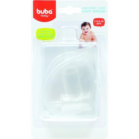 Imagem de Aspirador Nasal Para Bebês Sugador Aspirar Nariz Buba Baby