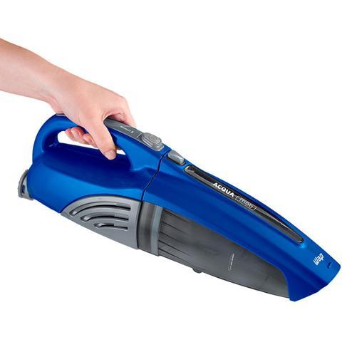 Imagem de Aspirador Vertical e Mão de Pó e Água Sem Fio Bateria Portátil 0,6L Bivolt Azul Wap Acqua Mob