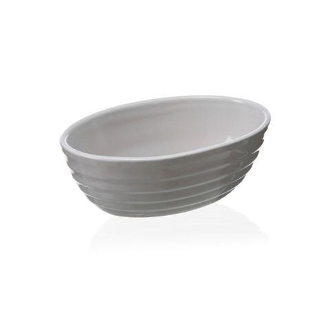 Imagem de Assadeira Oval em Cerâmica Gourmet 15x10cm Branca