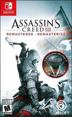 Jogo Assassin's Creed Iii Remastered - Switch - Ubisoft