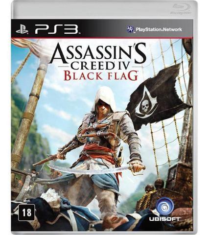 Jogo Assassin's Creed Iv: Black Flag - Playstation 3 - Ubisoft