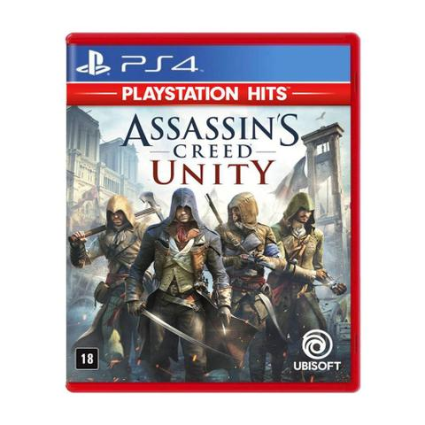 Jogo Assassin's Creed Unity Hits - Playstation 4 - Ubisoft