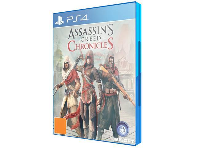 Imagem de Assassins Creed - Chronicles Tri Cpt para PS4