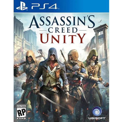 Jogo Assassin's Creed Unity - Playstation 4 - Ubisoft