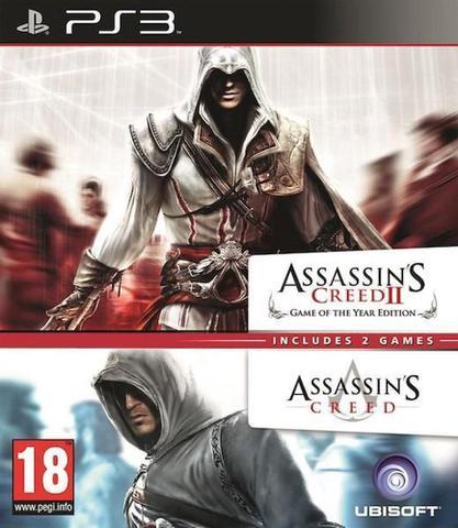 Jogo Assasssin\'s Creed 1 & 2 Compilation - Playstation 3 - Ubisoft