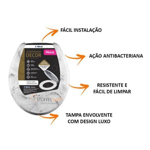 Imagem de Assento Sanitario Almof Decor Plast Branco