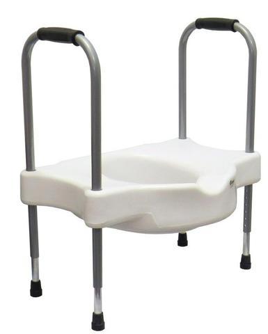 Imagem de Assento Sanitário Elevado Sit V Com Apoio Para Idoso