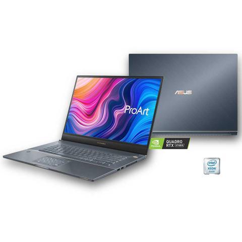 "Notebook - Asus W700 E-2276m 4.0ghz 32gb 4tb Ssd Quadro Rtx 3000 Windows 10 Professional Pro 17"" Polegadas"