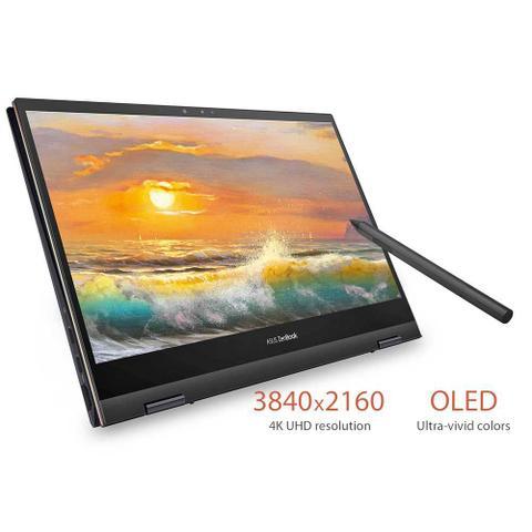 Imagem de Asus ZenBook UX371EA (Ultrabook 2-in-1) Intel 11ª geração i7-1165G7 tela 13' UHD 4K vídeo Iris Xe SSD 1Tb NVMe RAM 16Gb