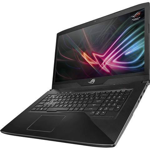 Notebookgamer - Asus Gl703 I7-8750h 2.20ghz 32gb 500gb Híbrido Geforce Gtx 1050ti Windows 10 Home 17,3