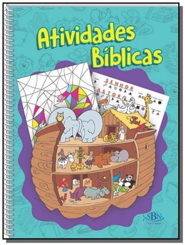Imagem de Atividades biblicas - vol. unico