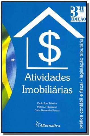 Imagem de Atividades imobiliarias - pratica contabil e fisca - Alternativa