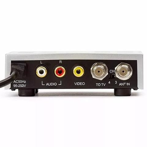 Imagem de Áudio e Vídeo Modulador