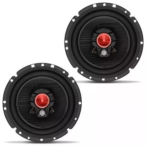 """Imagem de Auto Radio Automotivo Bluetooth e Par Alto Falante 6"""" Bomber"""