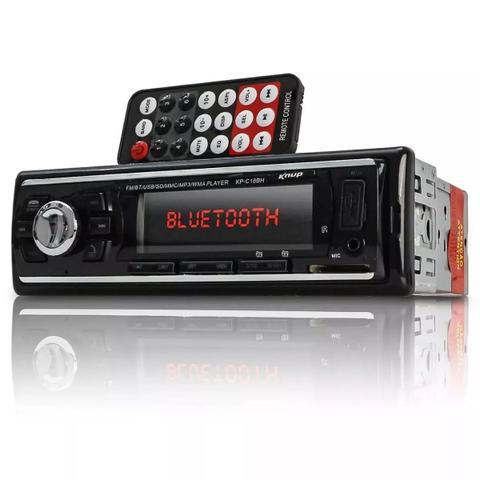 Imagem de Auto Radio Automotivo Bluetooth e Par De Auto Falantes Orion 6 Polegadas