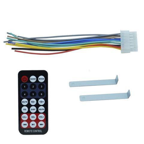 Imagem de Auto Rádio Som Mp3 Player Automotivo Carro Bluetooth First Option 6660BSC Fm Sd Usb Controle