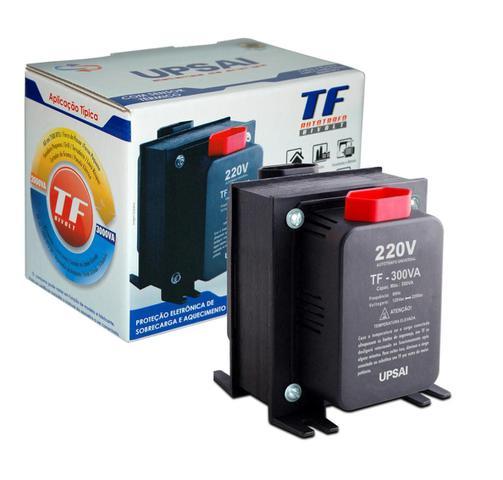 Imagem de Auto Transformador de Voltagem Conversor 300va Automático Bivolt 110v / 220v ou 220v / 110v Upsai 51000030
