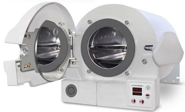 Imagem de Autoclave Display Digital Stermax Eco Extra 12 Litros