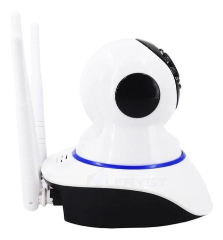 Imagem de Babá Eletrônica Câmera IP robô Wi-fi Visão Noturna C/microfone S/fio