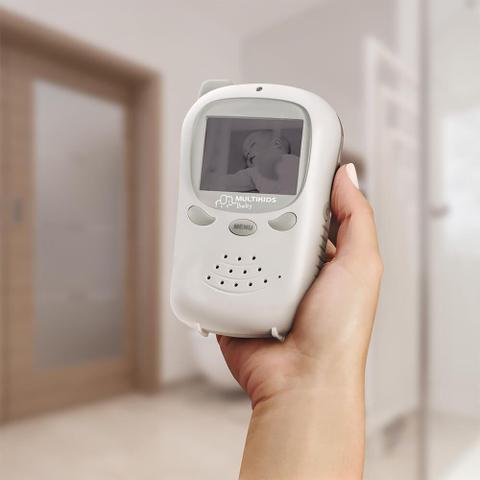 Imagem de Babá Eletrônica Digital Com Câmera Multikids Baby - BB126