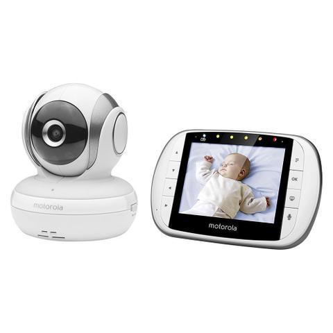 Imagem de Babá Eletrônica Motorola MBP-33XL  5pol Screen Branco
