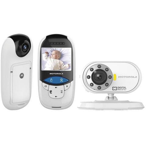 Imagem de Babá Eletrônica Motorola MBP27T com Detector de Temperatura