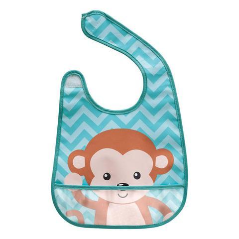 Imagem de Babador Animal Fun Macaco Buba Baby ref 52095