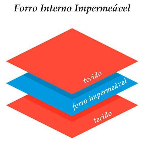 Imagem de Babador Bandana Forro Impermeavel - Kit 3 unidades, Marinho, Oogie