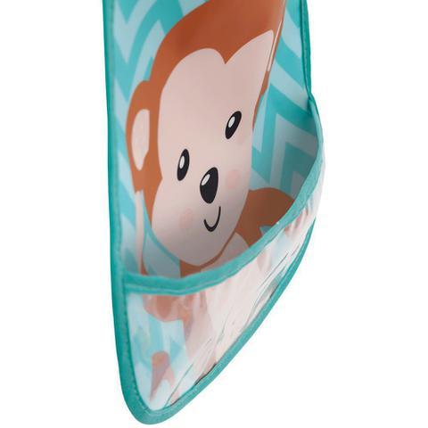 Imagem de Babador com bolso Animal Fun - Macaco buba