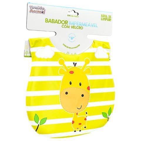 Imagem de Babador Para Bebês Impermeável Turminha Animal Girafa Unik