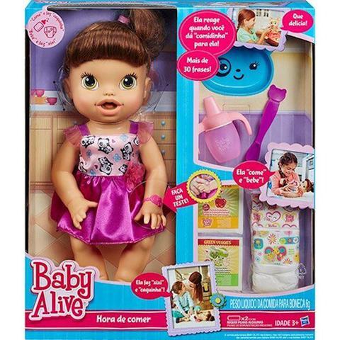 Imagem de Baby Alive Hora De Comer Morena/ A8346