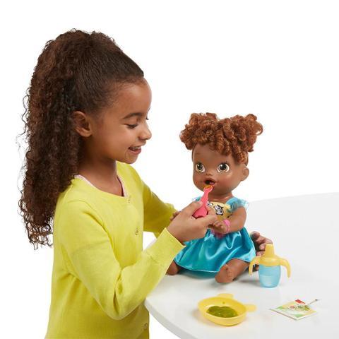Imagem de Baby Alive Hora de Comer Negra A8347 - Hasbro