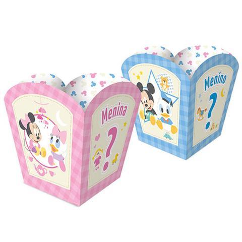 Imagem de Baby Disney Chá Revelação Cachepot c/8 - Regina