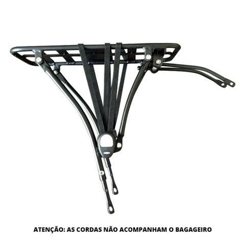 """Imagem de Bagageiro traseiro para bicicleta dobrável de aro 20"""" ou 24"""" que suporta até 25kg Durban"""